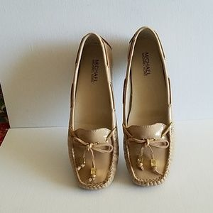 Michael Kors Beige Loafers